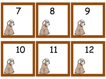 *Give a Dog a Bone Differentiated Math Center
