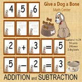 Give a Dog a Bone Differentiated Math Center