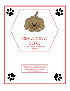 Give a Dog a Bone Digraphs
