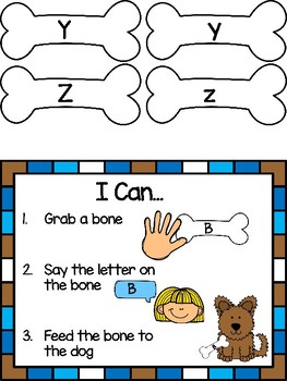Give a Dog a Bone -Letter Recognition Game