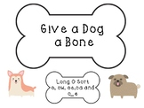 Give a Dog a Bone- Long O Vowel Sort