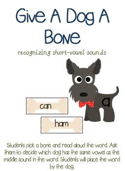 Give a Dog a Bone: Recognizing short-vowel sounds