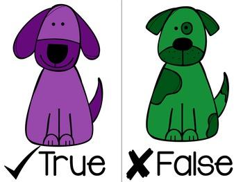 Give a Dog a Bone - True or false addition game