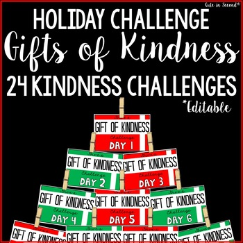Give a Gift of Kindness- December Kindness Challenge