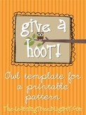 Give a HOOT! Earth Day Craftivity