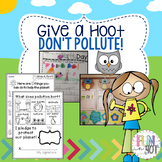 Give a Hoot! Don't Pollute! : Earth Day Worksheets for Pri