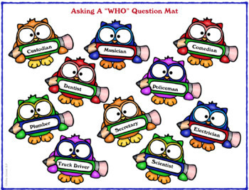 Give a Hoot about…..Who Questions