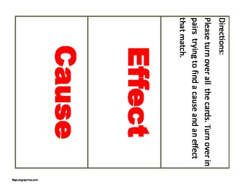 Cause and Effect Mini-lesson (If You Give a Pig a Pancake)