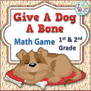 Subtraction - Math Centers and Game - Dogs