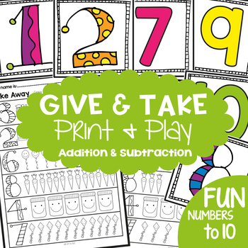 Addition and Subtraction Math Center / Activity
