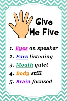 Give me 5 Classroom Management Strategies