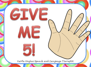 Give me 5 - Team activity