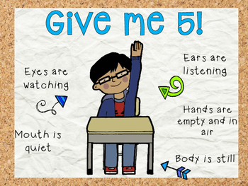 Give me 5 classroom poster