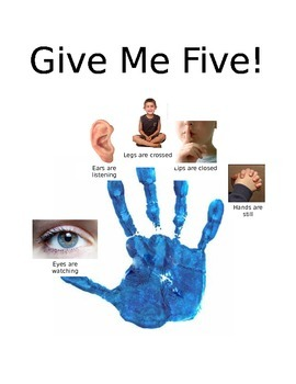 Give me Five with pictures