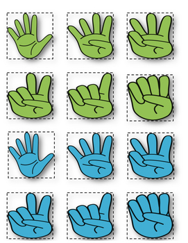 Give me a Hand! Counting