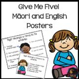 Give me five (Maori and English)