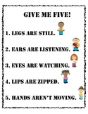 Give me five chart
