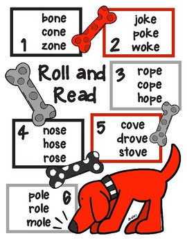 Give the Dog a Bone Long o CVCe Roll and Read
