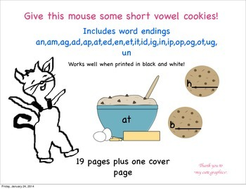 Give this Mouse a Short Vowel Word