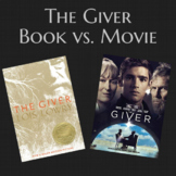 Giver Book vs. Movie Analysis/Questions/Guide