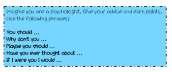 Giving Advice Game!