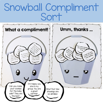 Giving Compliments: Social Skills Lesson for Giving Compliments