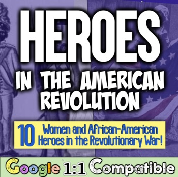 American Revolution: Women & African-Americans! Giving Credit Where Credit Due!