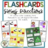 Giving Directions English - Flashcards