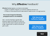 Giving Effective Feedback Lesson