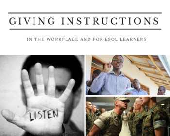 Giving Effective Instructions in the Workplace