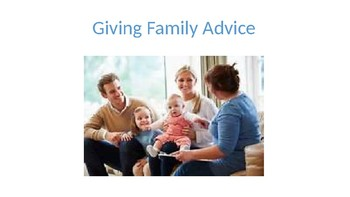 Giving Family Advice