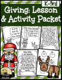 Giving Lesson & Activity Packet