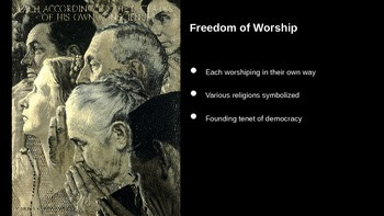 Giving Thanks: Norman Rockwell's Four Freedoms