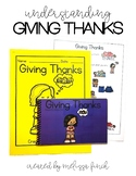 Giving Thanks- Social Narrative for Student's with Special Needs