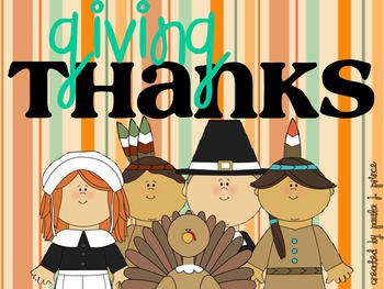 Giving Thanks {Writing Activities}