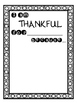 Giving Thanks for Great Classmates - A Thanksgiving Kindne