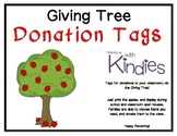 Giving Tree Donation Apple Tags