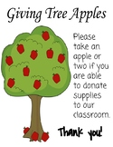Giving Tree Donations