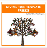 Giving Tree Template Freebie