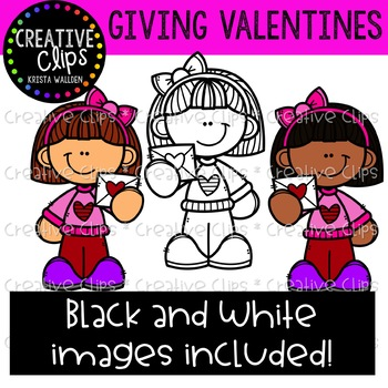 Giving Valentines: Valentine Clipart {Creative Clips Clipart}