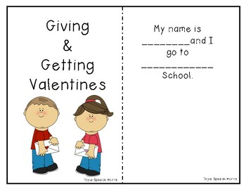 Giving and Getting Valentines: A Social Story