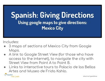 directions in Spanish with Google Maps by Spanish con ... on map with directions, maps and directions, google livestreet map trinidad, apple maps directions, google mars, google mapa, custom map directions, google street view, driving directions, google map from to, google latitude, google mapquest, bing directions, google map request, google calendar, google search, google earth, mapquest directions, google map lakeport ca, get directions,