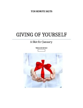 Giving of Yourself,and Helping Others