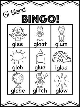 Gl Blend Bingo [10 playing cards]