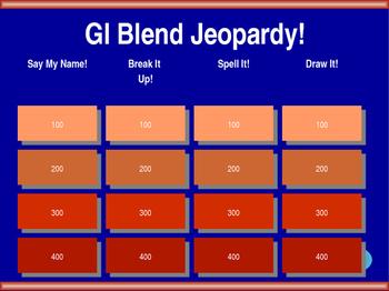 Gl Blend Jeopardy!
