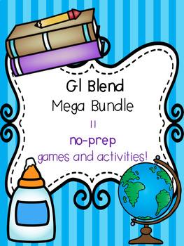 Gl Blend Mega Bundle! [11 no-prep games and activities]