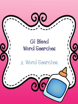 Gl Blend Word Searches!