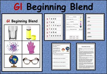 Gl beginning blend work packet