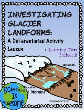 Glacier Landforms: a Differentiated Activity
