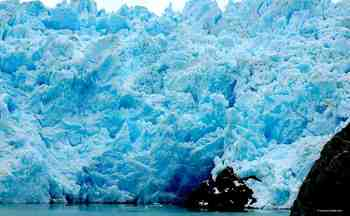 Glacier Photographs, Grey Glacier, Chile